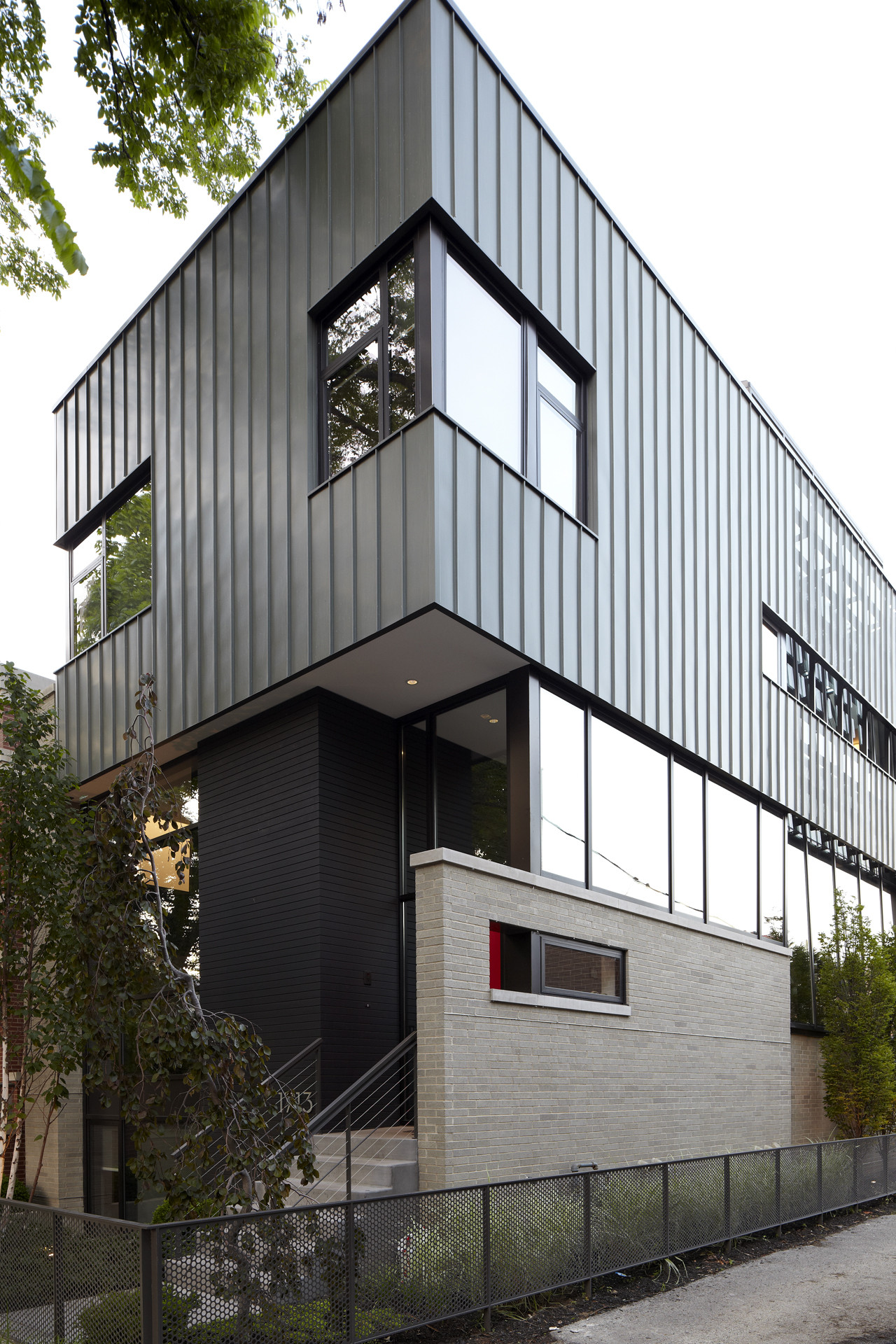 Wood House In Chicago Miller Hull Partnership Archdaily