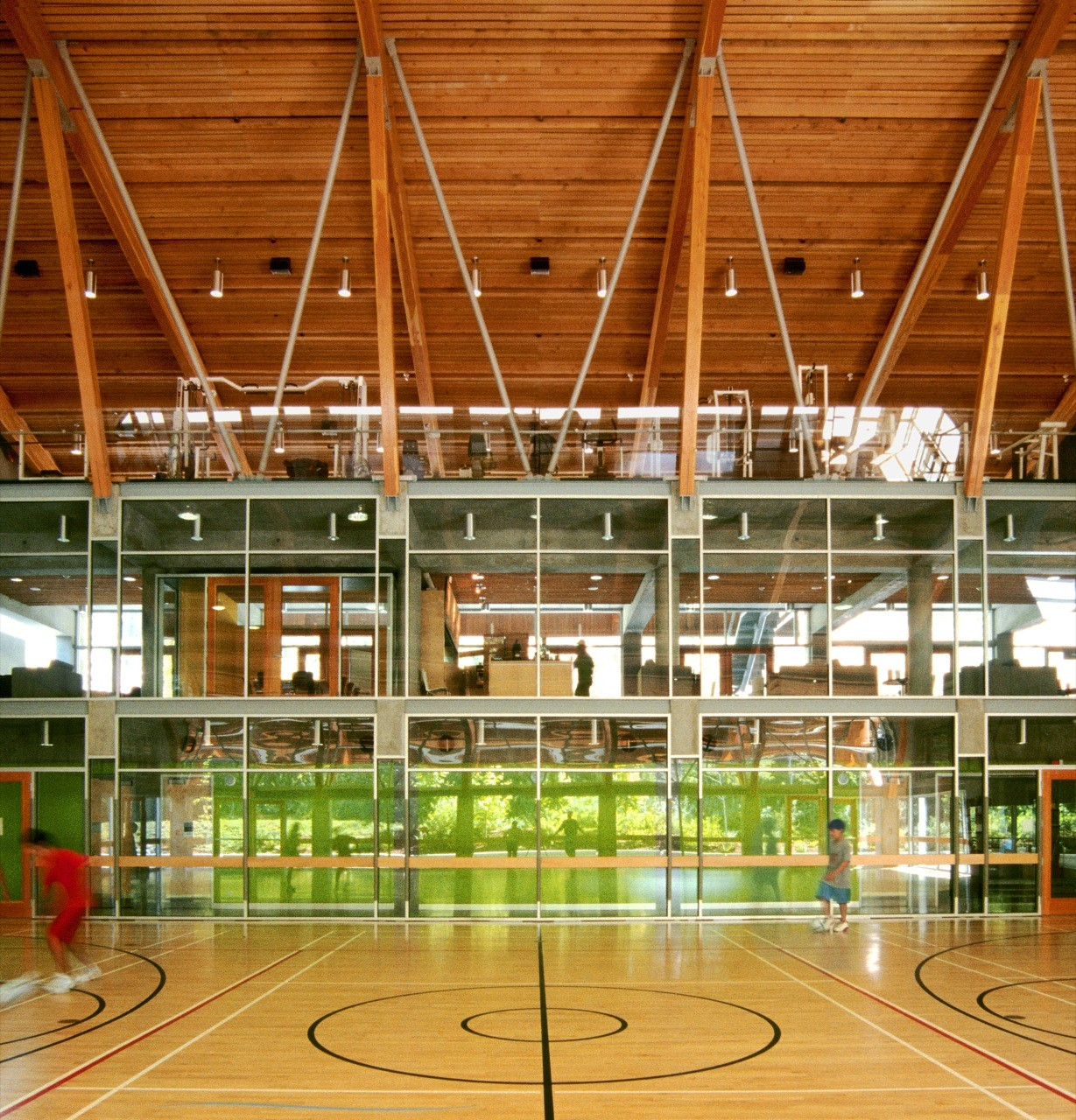 Flooring For Home Gym Canada: Gallery Of Gleneagles Community Center / Patkau Architects