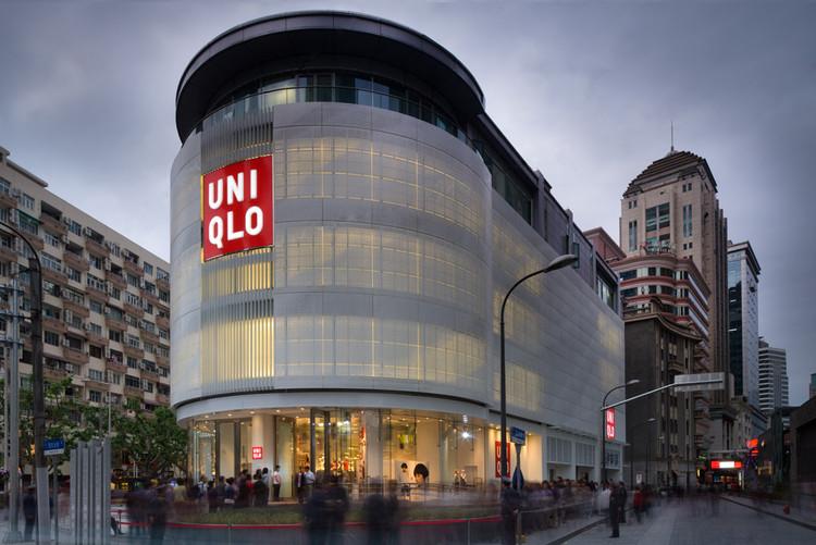 Uniqlo Shanghai / Bohlin Cywinski Jackson, © Nic Lehoux