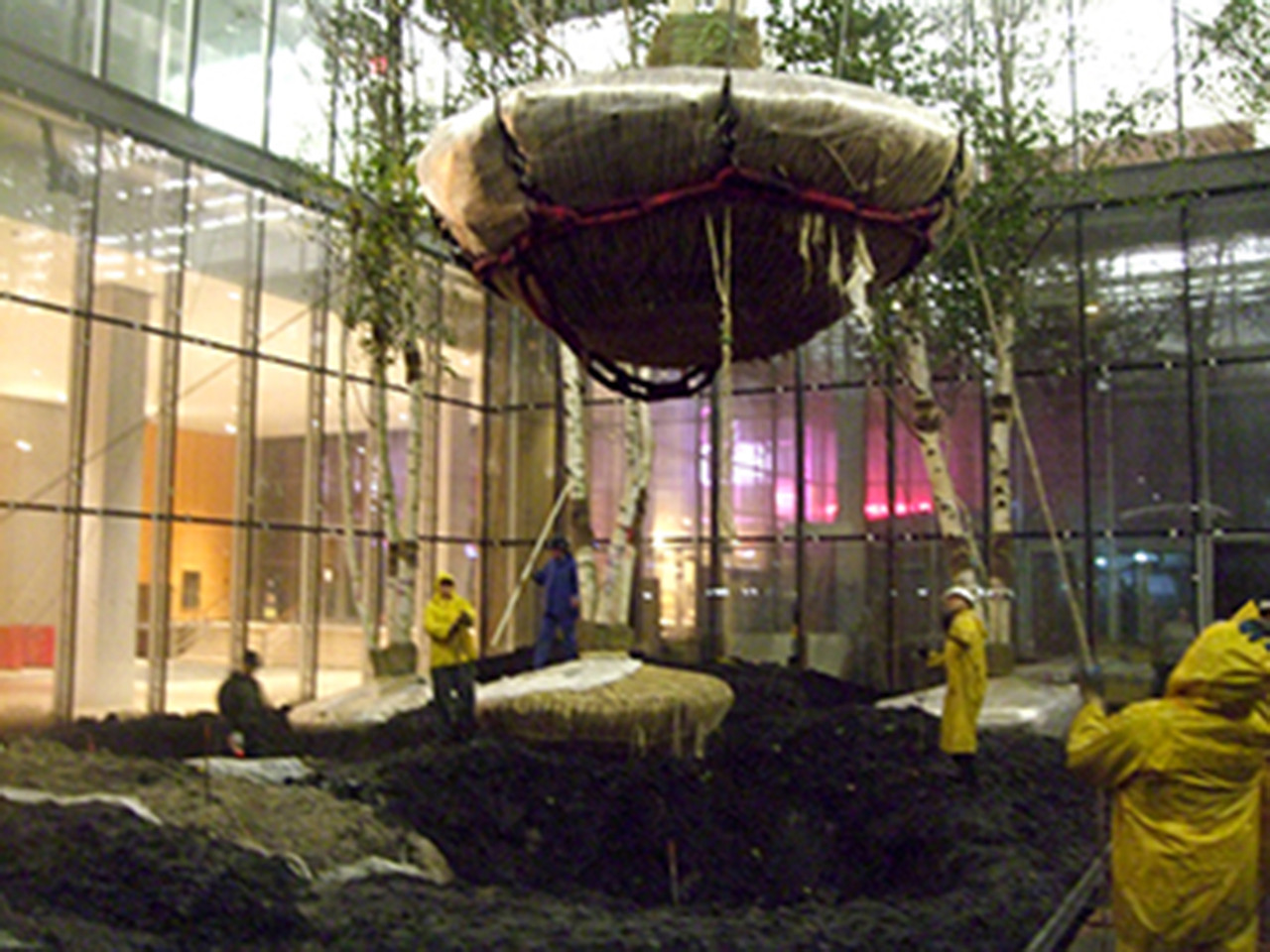 Gallery of The New York Times Building Lobby Garden / HM White Site ...