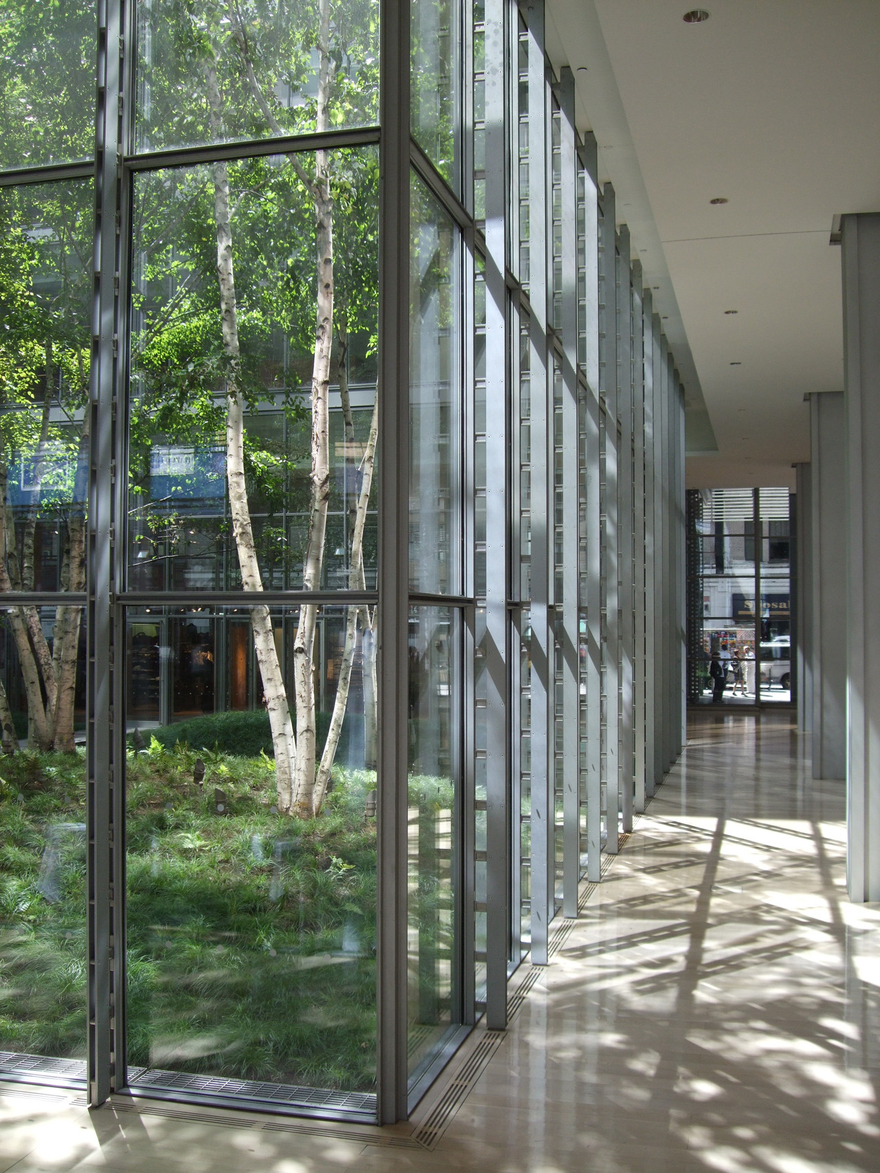 Gallery Of The New York Times Building Lobby Garden    Hm White Site Architects   Cornelia