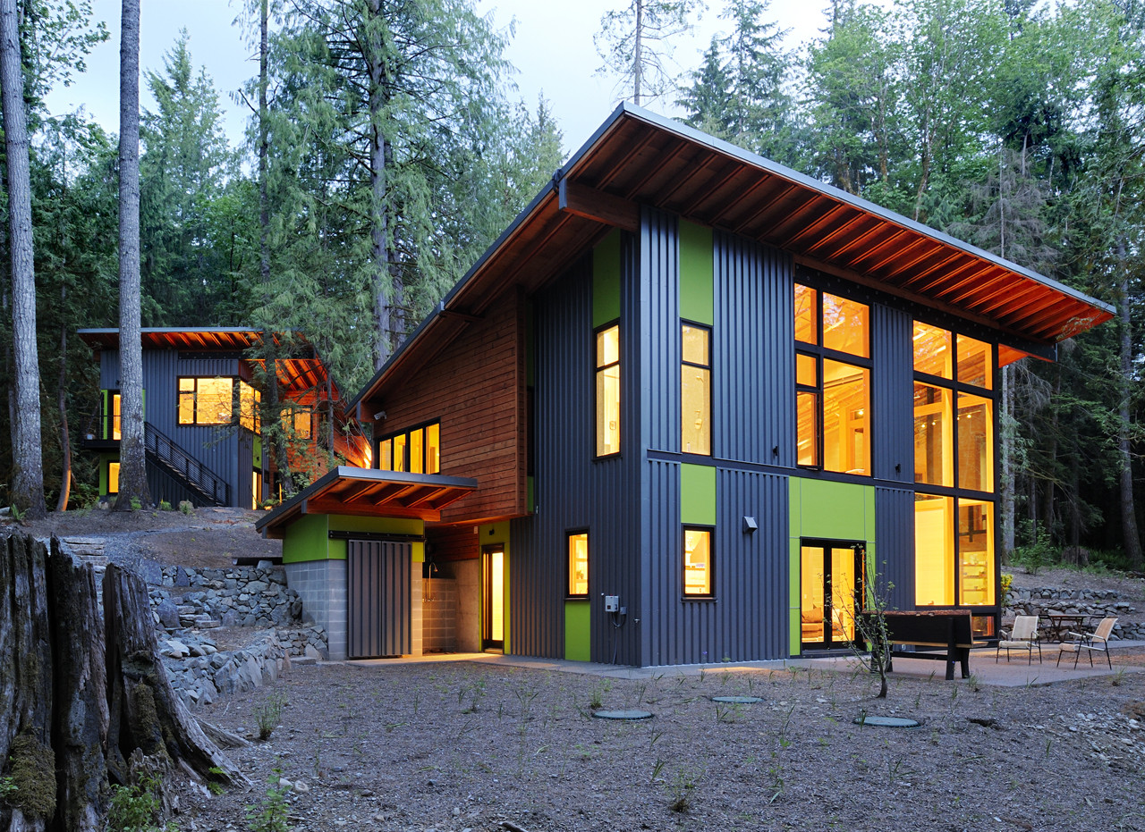 North Bend House Johnston Architects Archdaily