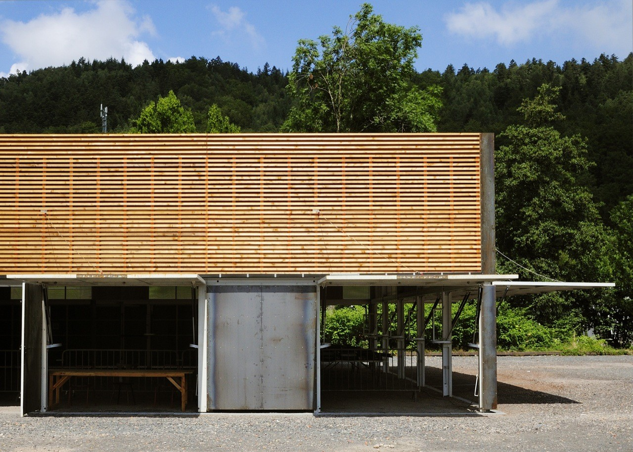 Robin Sports Center Hall / AP5 Architects, © T. Guyenet