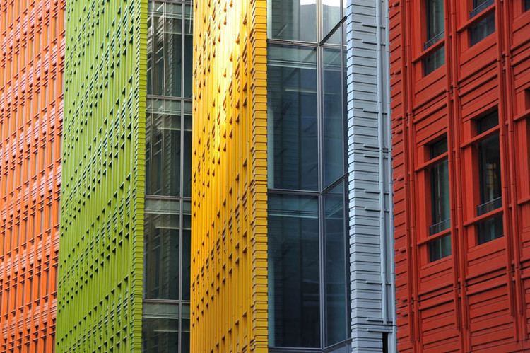 Corte Central St. Giles / Renzo Piano + Fletcher Priest Architects