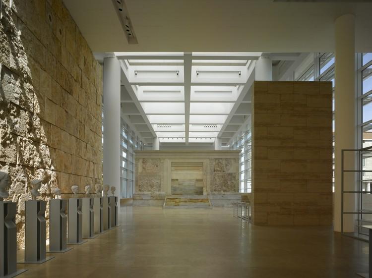 Ara Pacis Museum Richard Meier Partners Archdaily