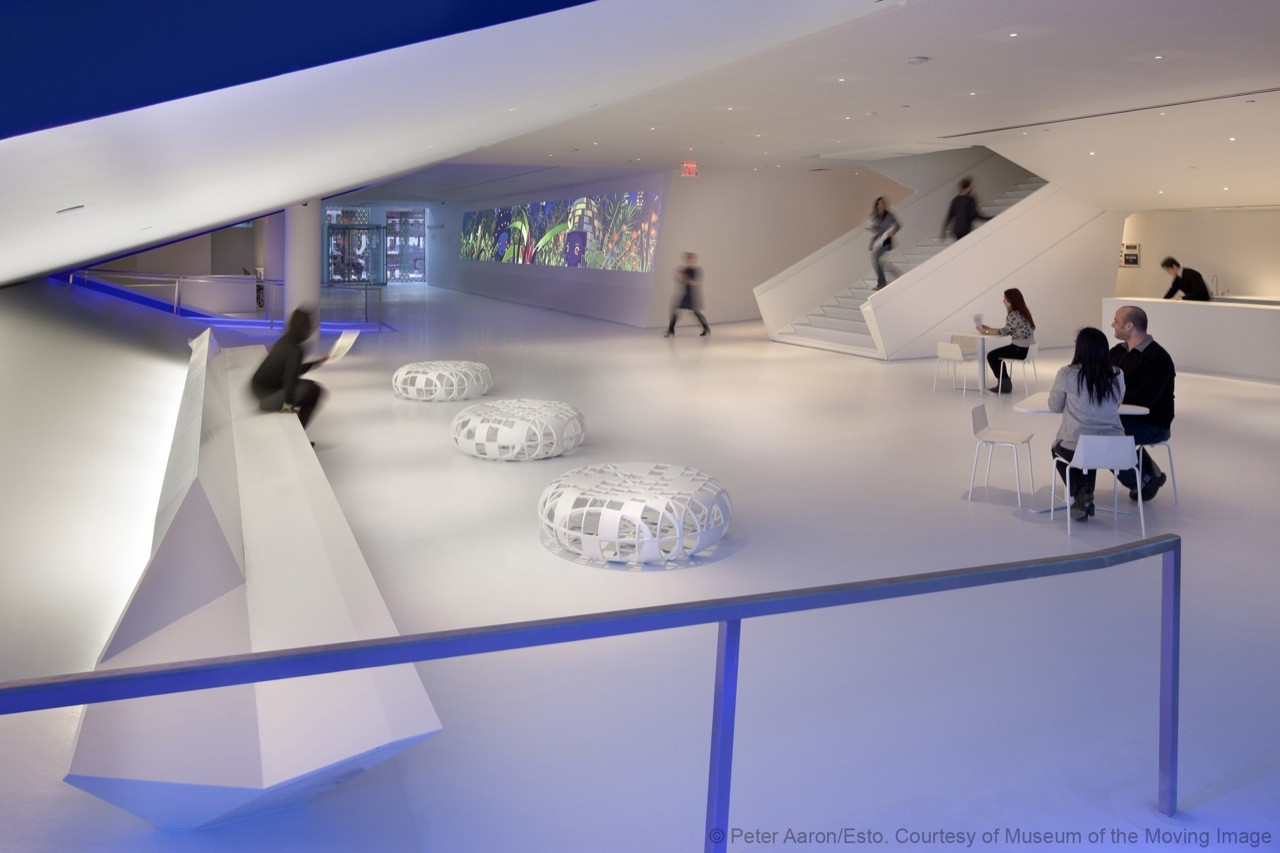 Museum of the Moving Image / Leeser Architecture, © Peter Aaron/Esto. Courtesy of Museum of the Moving Image