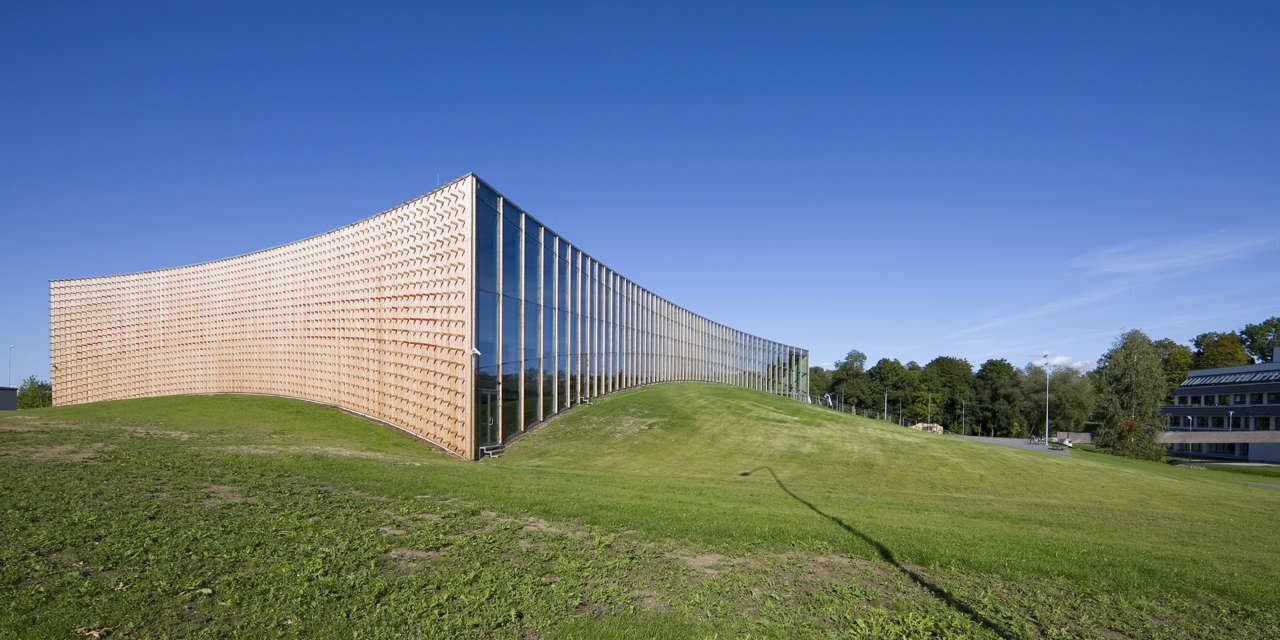 Sports Hall Of The Estonian University Of Life Sciences / Salto AB, © Kaido Haagen