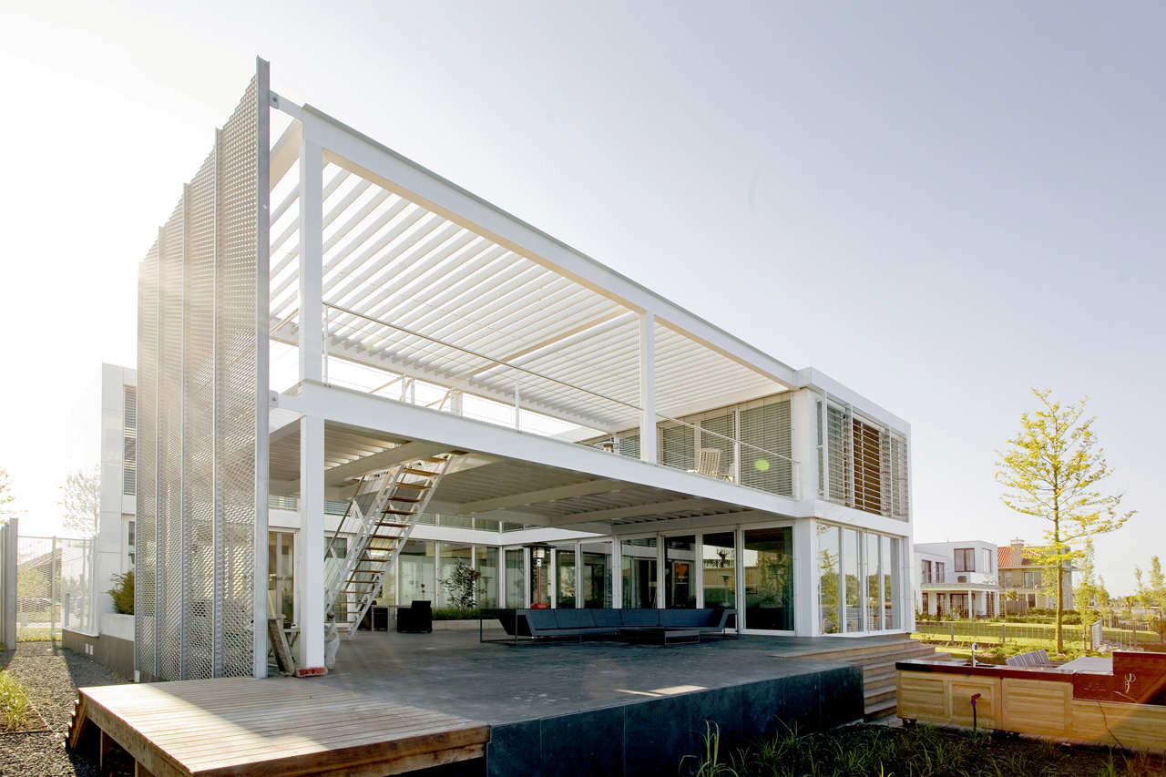 Steel Study House II / Archipelontwepers, © Marcel van der Burg