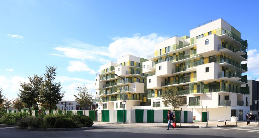 28 Social Housing In Paris / KOZ Architectes, © Guillaume Grasseet