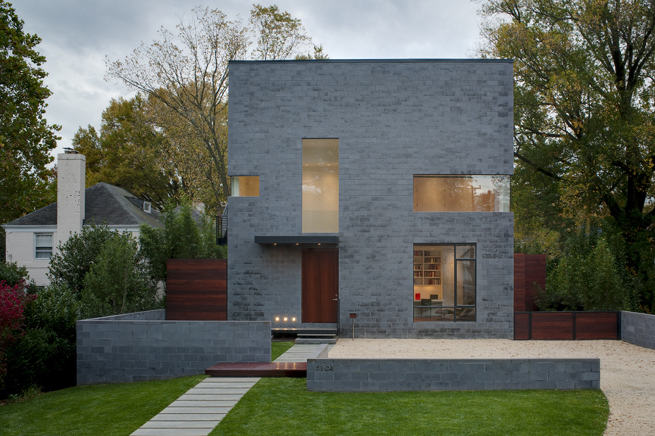 Gallery of hampden lane house robert gurney architect 4 - Maison modulaire gurney architecte ...