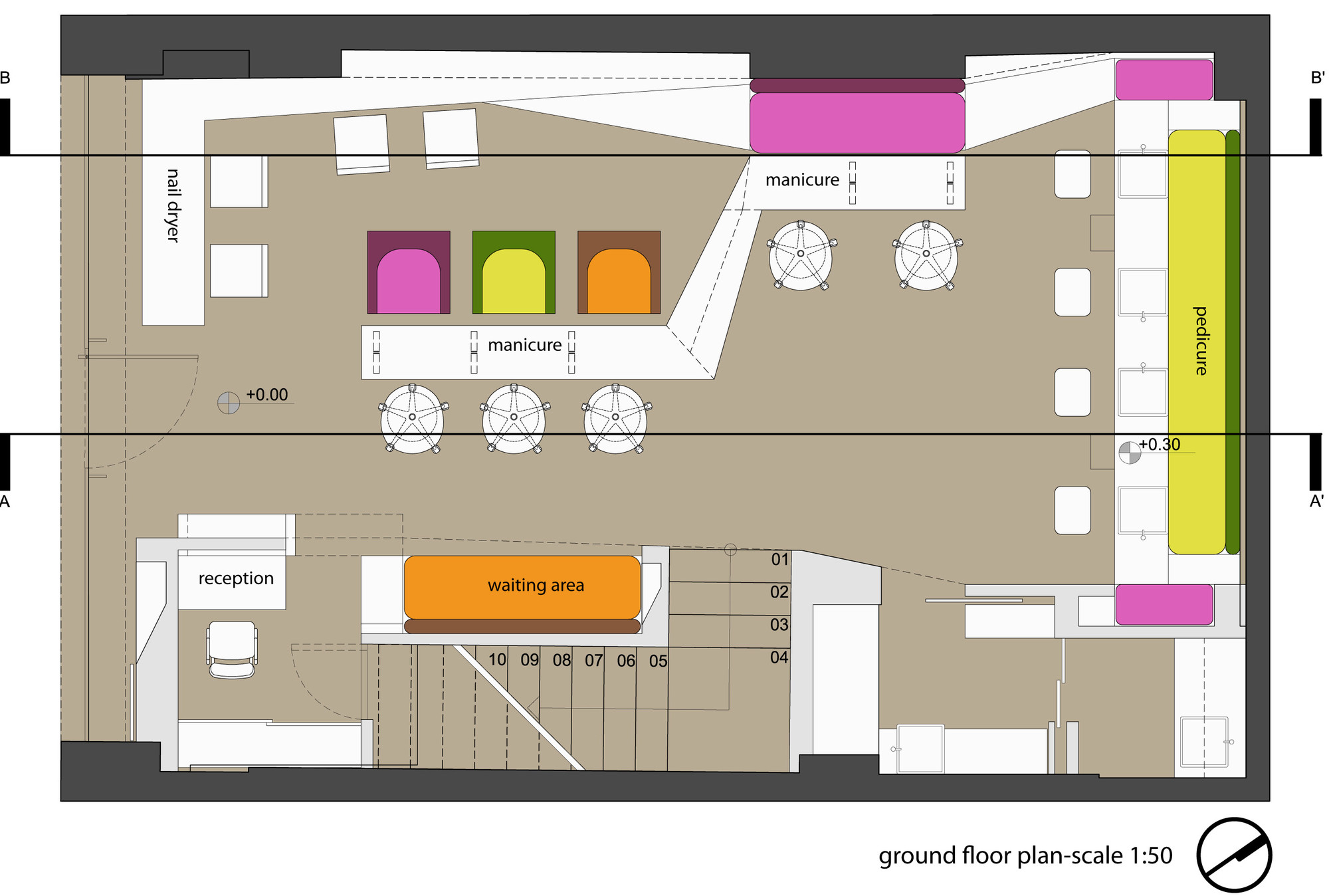 Viva La Lima Retail Store,ground Floor Plan