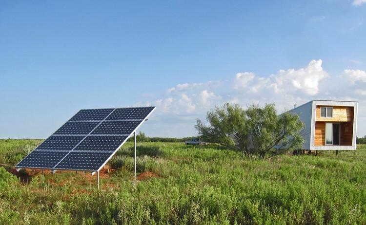 Sustainable Cabin / Texas Tech University, © Urs Peter Flueckiger