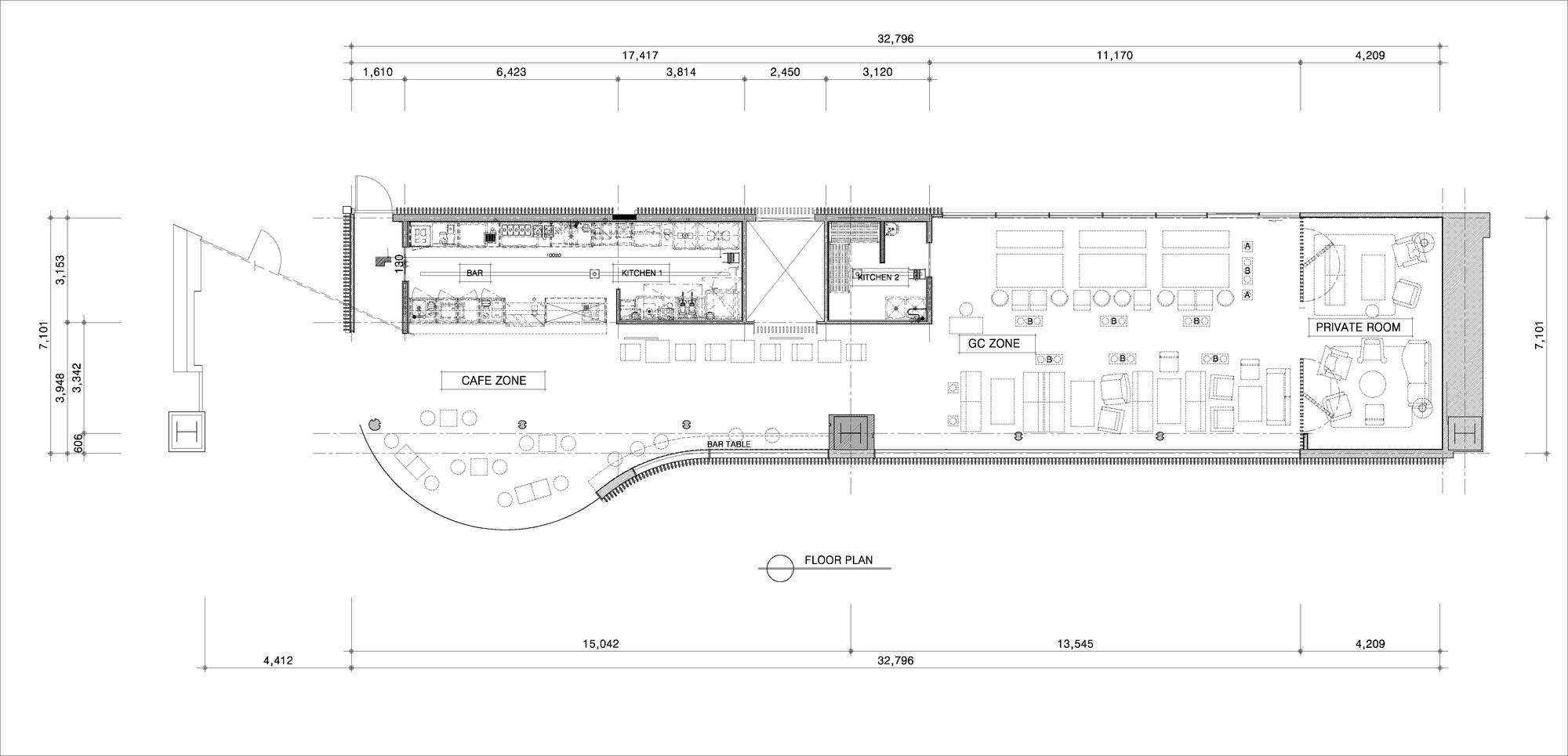 CGV Gold Class Lounge / URBANTAINER. 8 / 12. floor plan