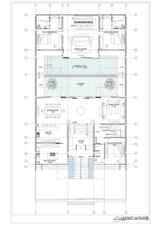 layout plan first floor