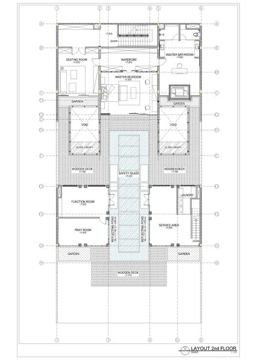 layout plan second floor