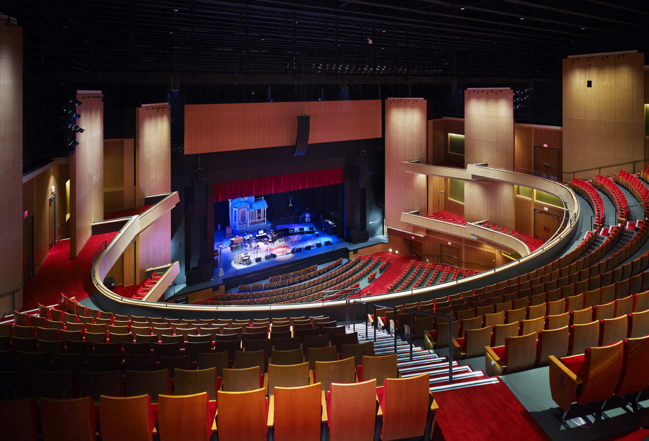 Gallery Of The Durham Performing Arts Center Szostak Design 32