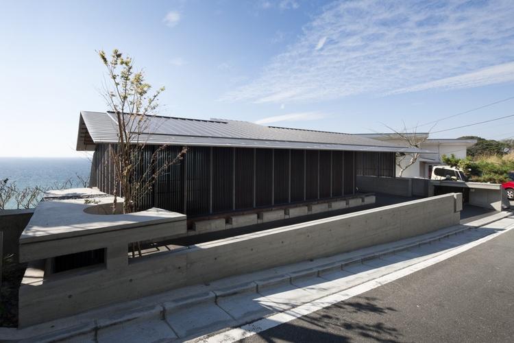 Wind-dyed house / acaa, © Hiroshi Ueda
