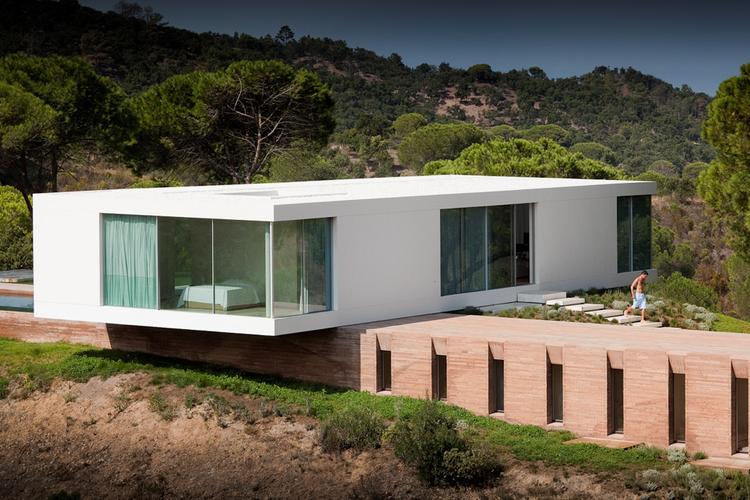 House in Melides / Pedro Reis, © Fernando Guerra |  FG+SG