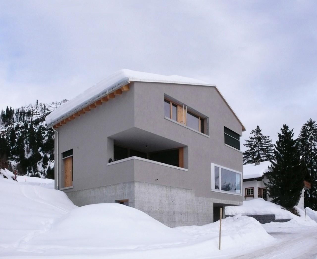 House In Sedrun / Flavio Loretz