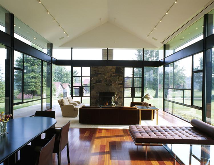 Blue Ridge Farmhouse Addition / Robert Gurney Architect, © Paul Warchol Photography
