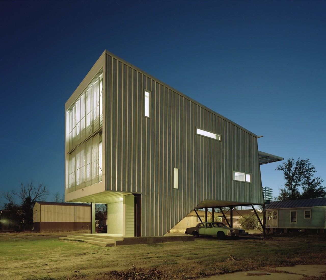 Porchdog House / Marlon Blackwell Architect, © Timothy Hursley