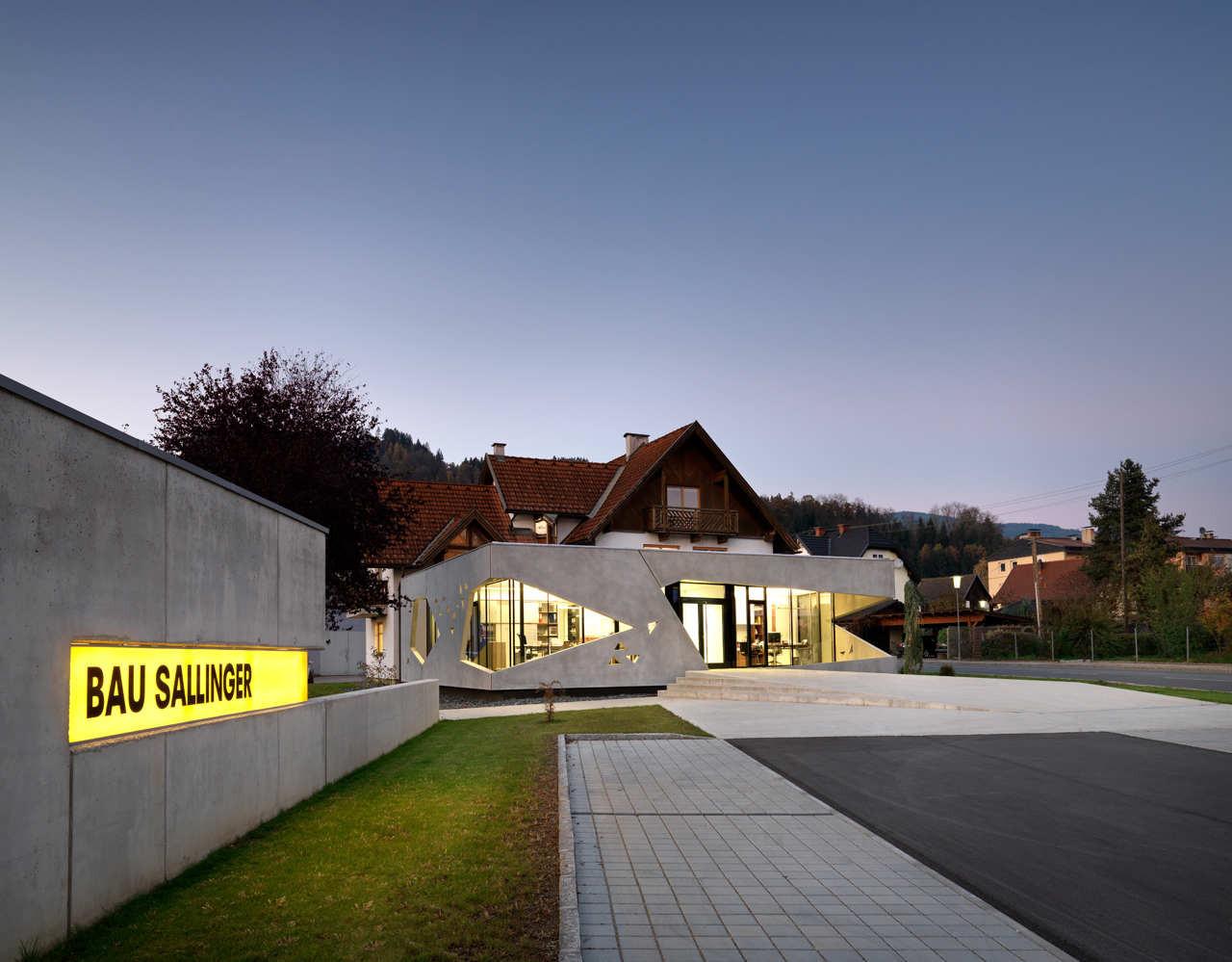 Bau Sallinger Office / Spado Architects, © Kurt Kuball