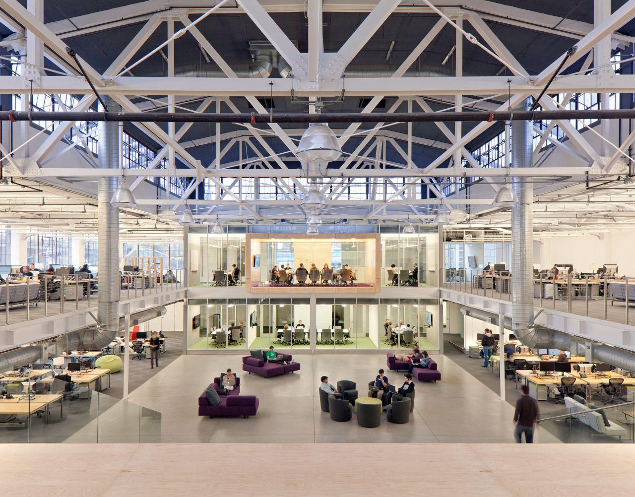 Atlassian Offices / Studio Sarah Willmer, © Jasper Sanidad