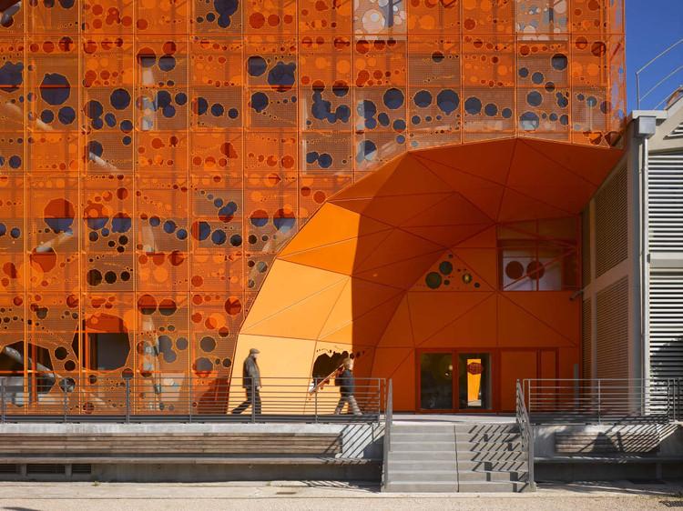 The Orange Cube Jakob Macfarlane Architects Archdaily