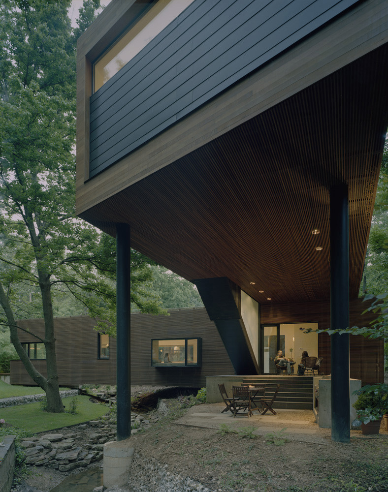 L-Stack House / Marlon Blackwell Architect, © Timothy Hursley