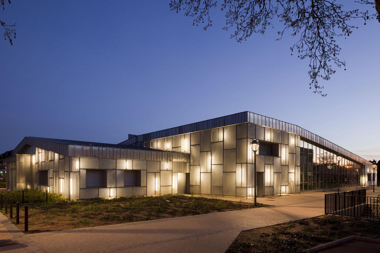 Media Library and Cultural Centre / Barbotin + Gresham Architects, Courtesy of  barbotin + gresham architects