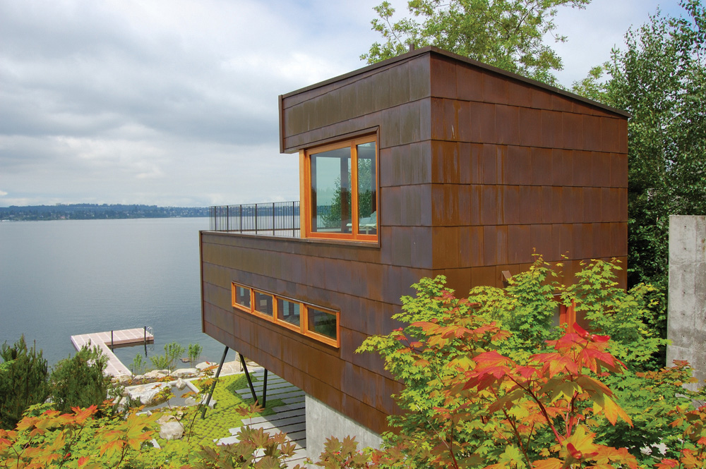 Lake House Hutchison Maul Architecture ArchDaily