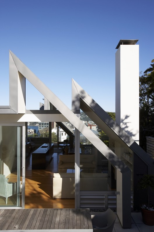 Salamanca House / Parsonson Architects, ©  Patrick Reynolds