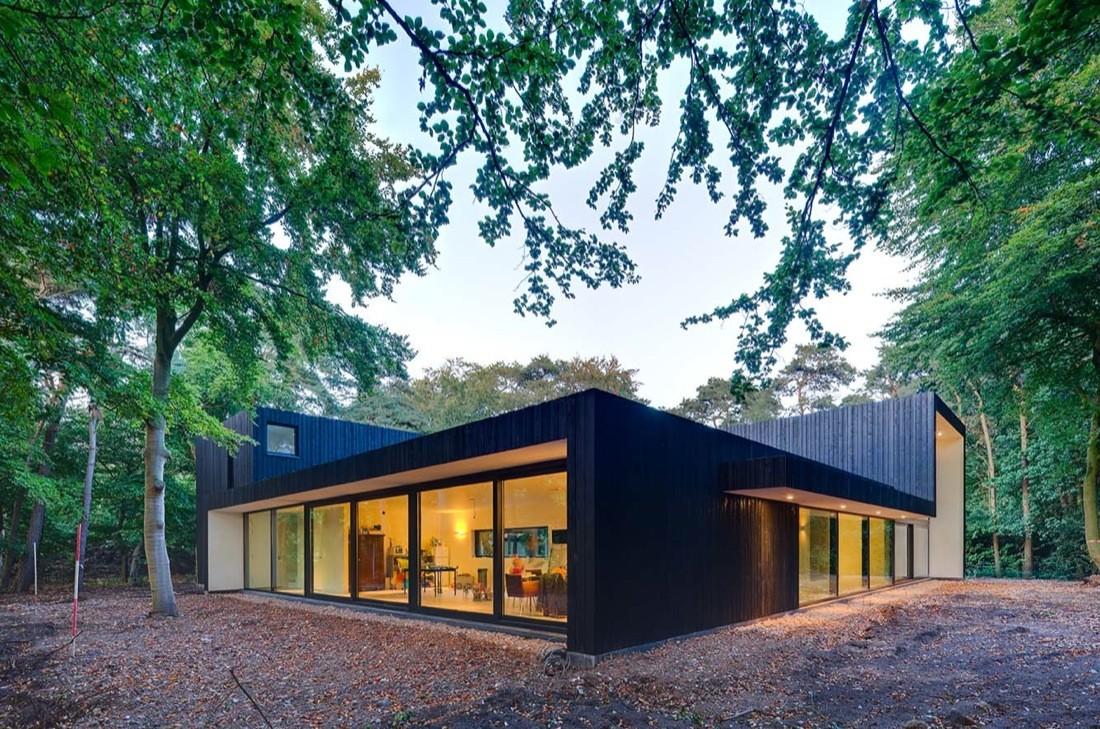House kvd grosfeld van der velde architecten archdaily for Casa minimalista bosque