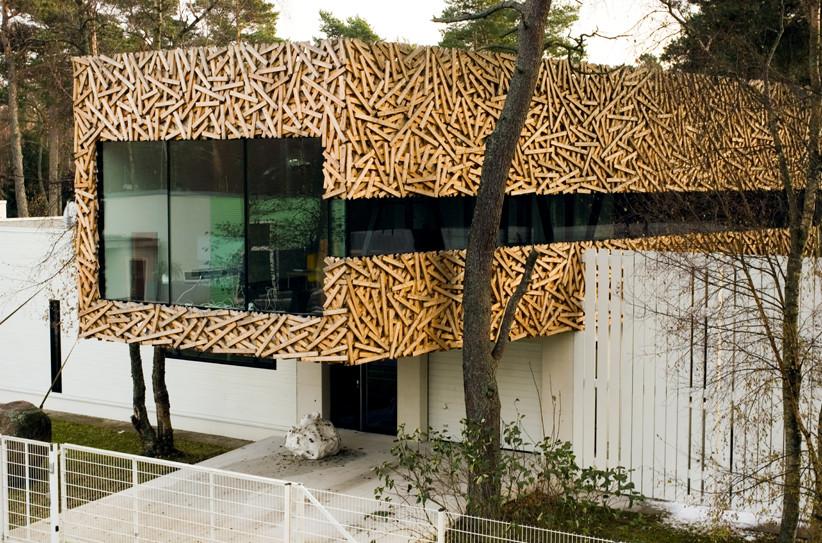 Suurupi house extension arhitektid muru pere archdaily - Extension cuisine sur jardin ...