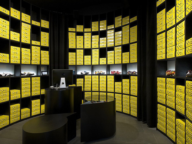 66 Gallery and Botas Concept Store / A1 Architects, via A1 Architects