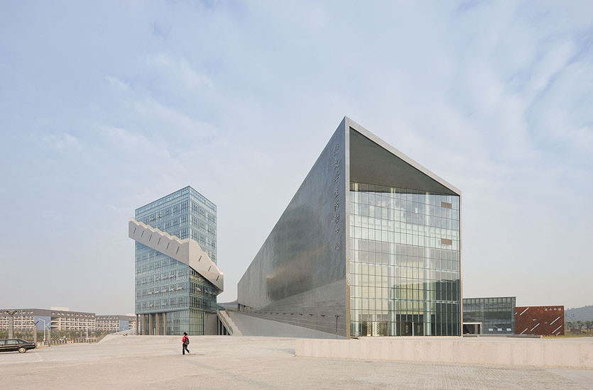 Nanjing Performing Arts Center / Preston Scott Cohen, © Iwan Baan