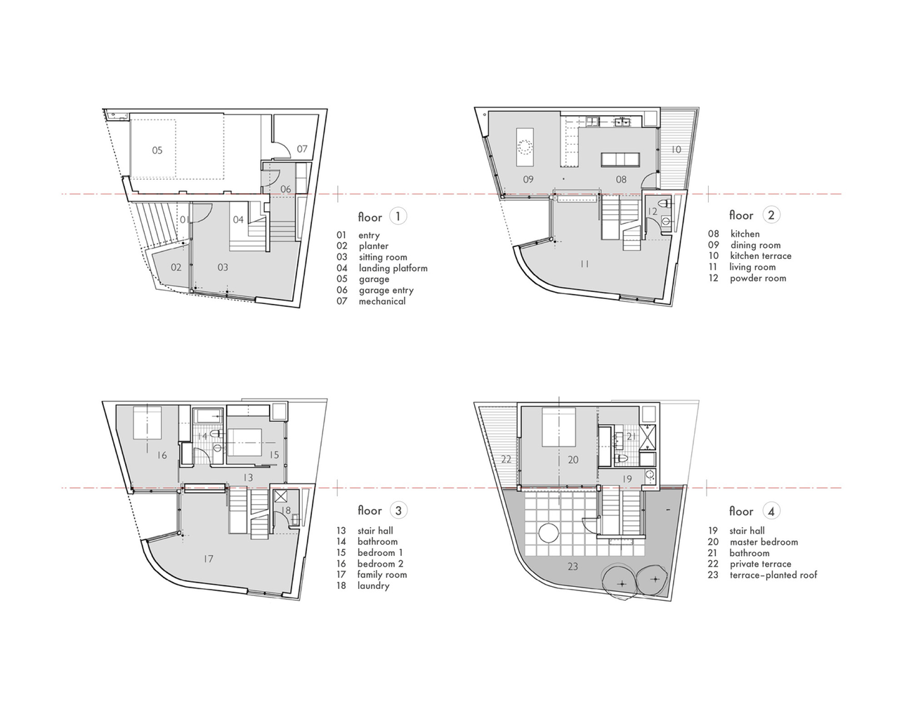 Split level housefloor plans