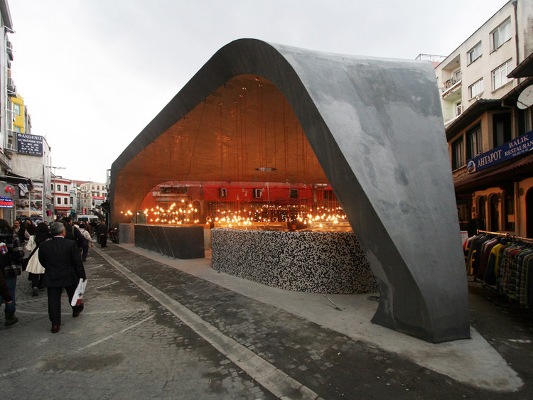 Besiktas Fishmarket / GAD, Courtesy of GAD