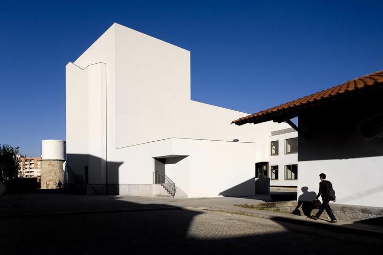 School of Music, Arts & Crafts / Contemporânea, © Fernando Guerra |  FG+SG