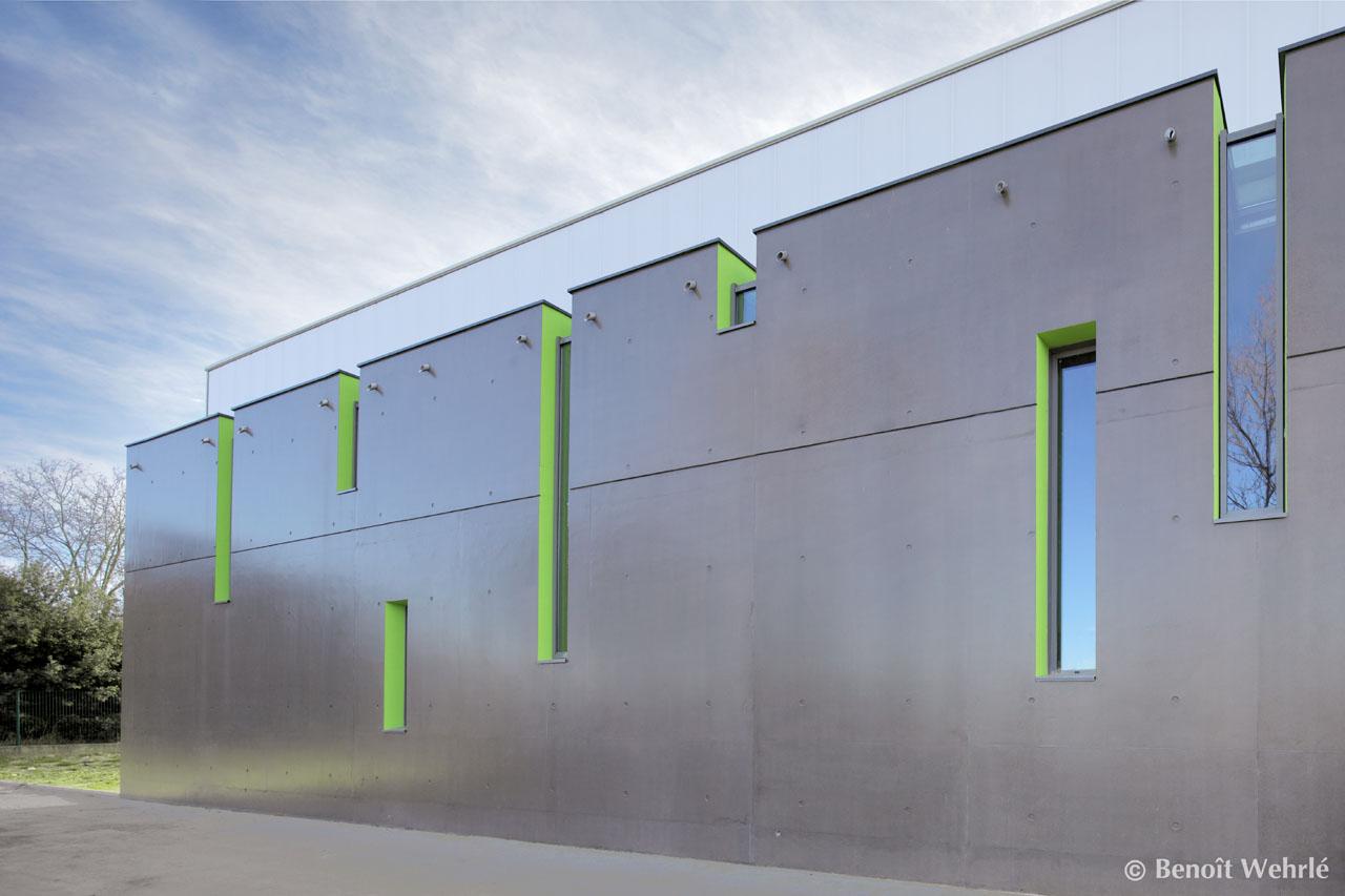 Gymnase Clapiers / MDR Architectes