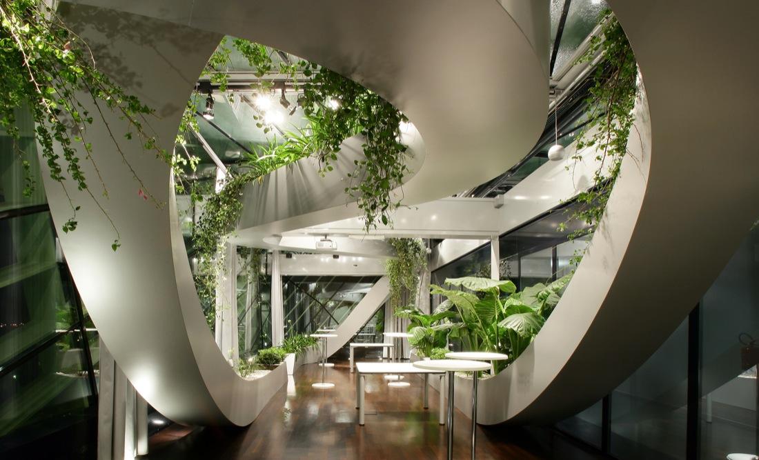 Jardín Panorámico de CCIS por Sadar + Vuga