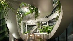 Panoramic Garden of CCIS / SADAR + VUGA
