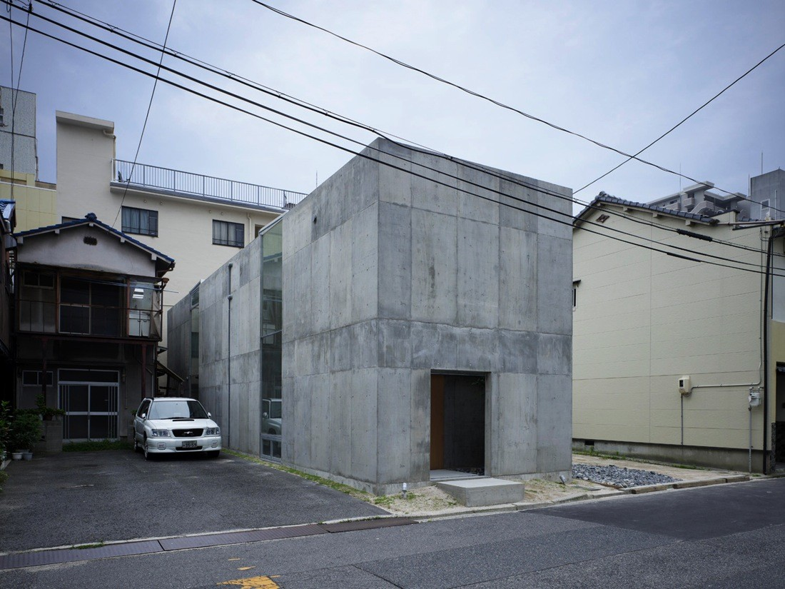 House in koamicho suppose design office archdaily for Architecture japonaise