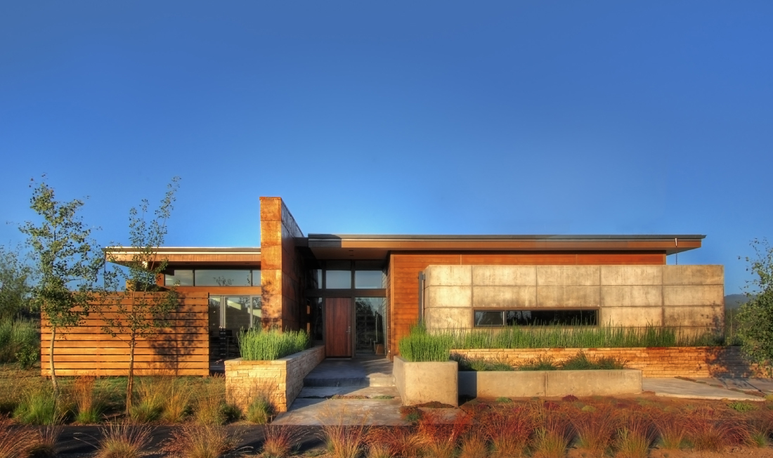 Gallery of high desert pavilion pique 1 for Southwest contemporary homes