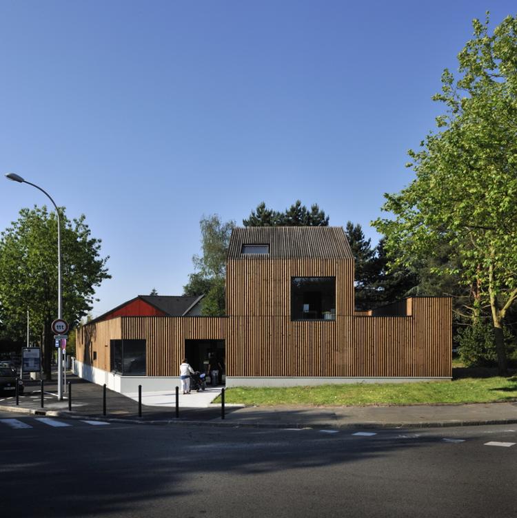 Les Ti'Canailloux / Topos Architecture, © Patrick Miara