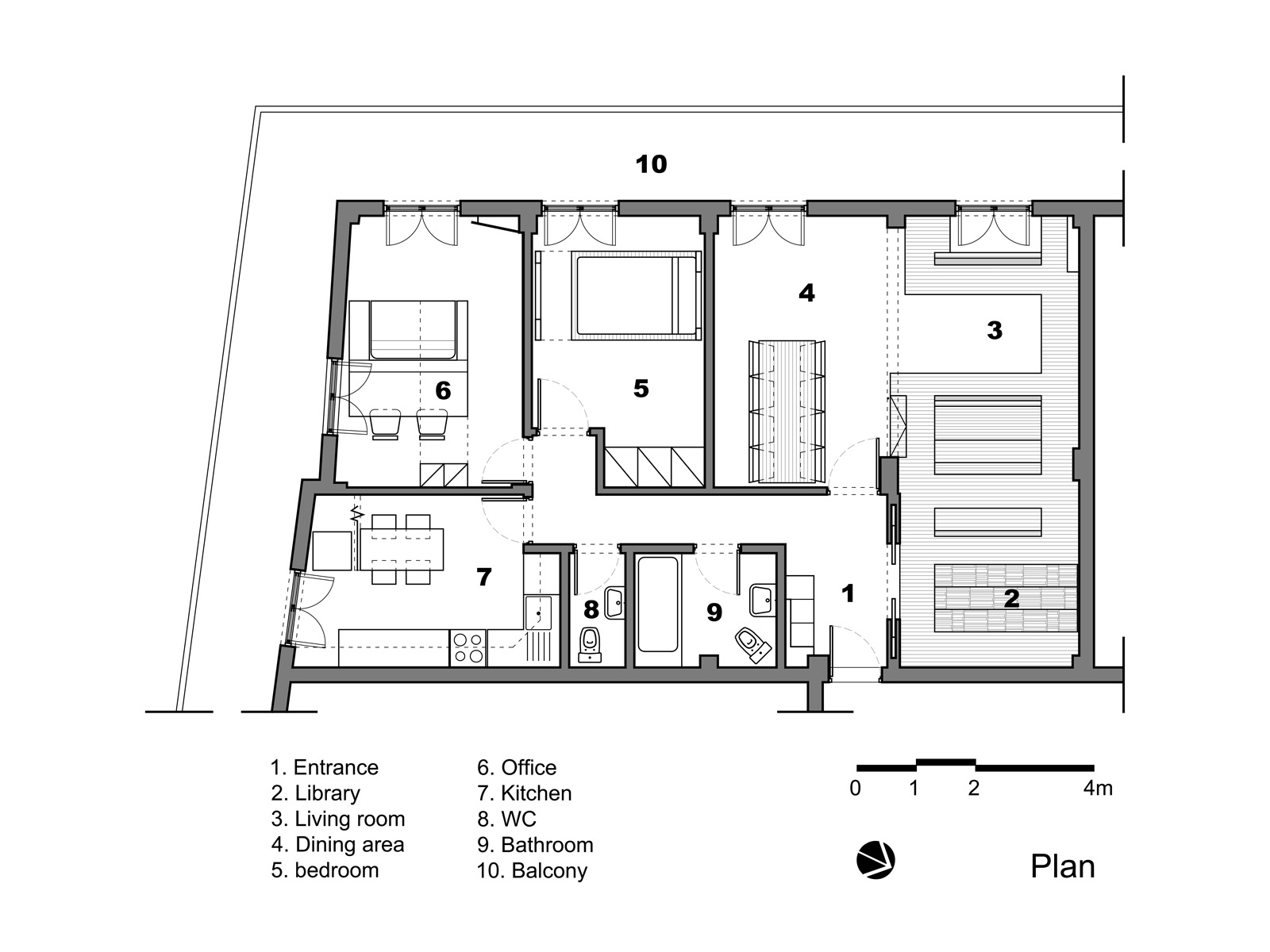 gallery of apartment in thessaloniki 27 architects 9