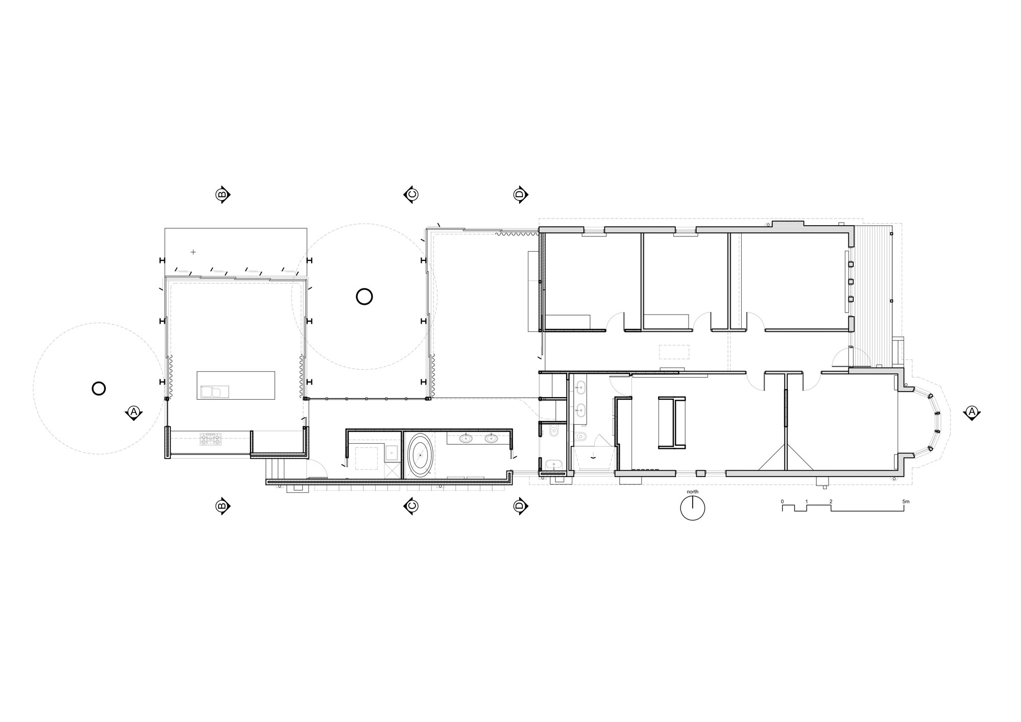 nice the willow house plan #6: Elm u0026 Willow House / Architects EAT