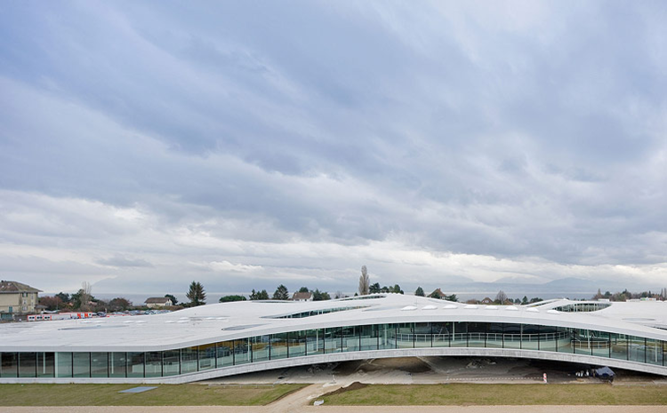 Rolex Learning Center / SANAA, © Iwan Baan