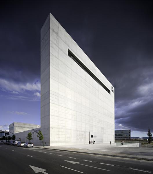 The ma andalucia 39 s museum of memory alberto campo baeza - Campo baeza obras ...
