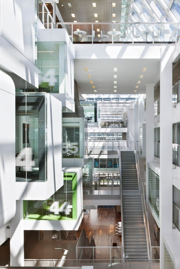 Gallery of macquarie bank clive wilkinson architects 11 for Bank designs architecture